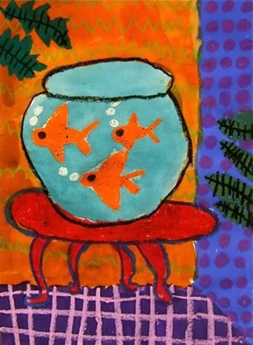 Fish drawing by Matisse